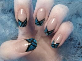 Winter Nails by BenjiiBen