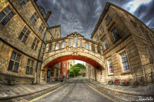 Bridge of Sighs Oxford by renatello
