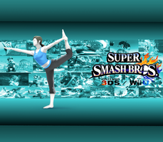 Wii Fit Trainer wallpaper new by CrossoverGamer
