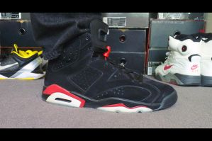 WDYWT - Black/Red 6s by BBoyKai91