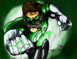 Green Suited Dude by stryfers