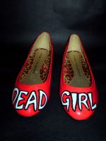 Dead Girl Shoes by Vicki-Death