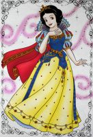 Apple Princess Snow White by heresjoc