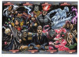 Marvel: Masterpieces X-Men set by RenaeDeLiz