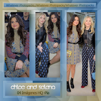 Photopack 0566 - Chloe Moretz And Selena Gomez by WhateverPhotopackss