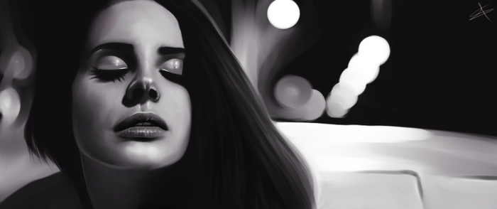 lana del rey | west coast by saeedgraphix