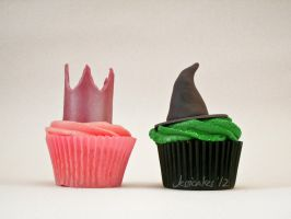 Wicked Cupcakes by thesearejessicakes