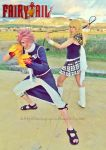 Natsu and Lucy cosplay - Daimatou Enbu by onlycyn