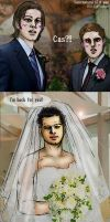 SPN S7.08 'Time for a Wedding' gag by noji1203