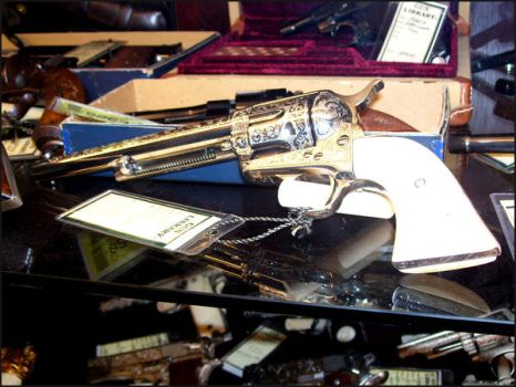 Colt SAA Engraved 6 Shooter by TheOneCalledNio