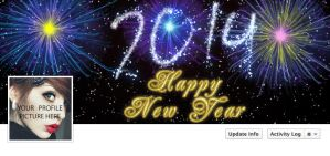 New Year Cover Photo by naeem1200