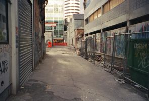 Graf alley construction by blackpurpleredpink