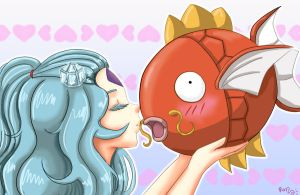 CS: Magikarp Kiss by RanNiwa