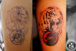 Tiger Cover up by ketology