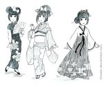 Traditional asian clothes by Kluste