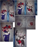 My Transformers Pants by Transformersfan4ever