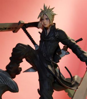 Cloud Strife (Advent Children) by HairyAsHell