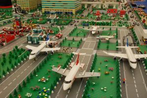Lego City No.1: Airport by kn33cow