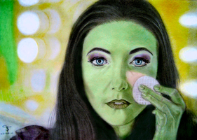 Willemijn Verkaik says Elphaba farewell by tanjadrawing