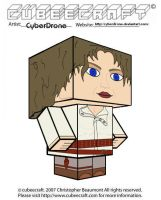 Cubeecraft - River Song by CyberDrone