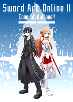 Sword Art Online II Congratulations!! by palmtreehero