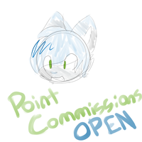 POINT COMMISSIONS OPEN by Mooui