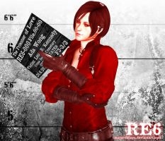 The Prisoner of Love - Ada Wong by MayaRokuaya