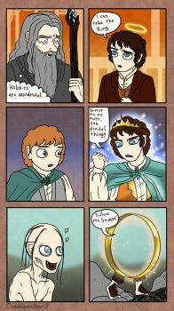How They See Frodo by Deathlydollies13