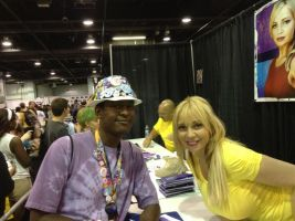 Tara Strong and Me by TheBlackmanBrony