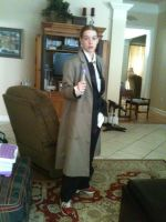Cosplay: 10th Doctor by LinkofSkyloft17