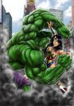 HULK X WONDER WOMAN by 3ONIC