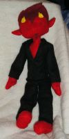 Lucifer Plushie by gryphflame
