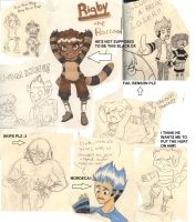 Regular Show-Anime Sketches xD by J-Popsicle