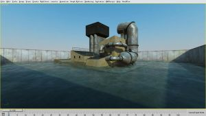 Realtime Water scene download by RTshaders