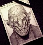 Azog - The Hobbit by carldraw