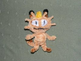 Meowth by fuzzyfigureguy