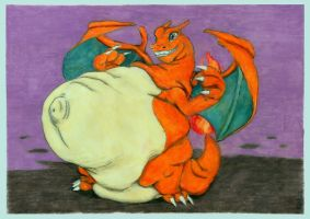 One fat Charizard by SSsilver-c