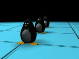 Penguins galore by Rotzi