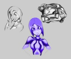 halo drawing spree by SinLoveHate
