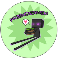 Enderbro and Gordon Friendermen Sticker by The-Greys