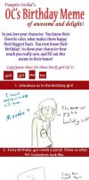 Birthday Meme for Miranda by Mister-Saturn