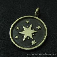 Bronze Twilight Sparkle pendant by Sulislaw