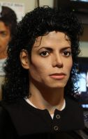 Who's Bad!? Michael Jackson lifesize bust pic 2 by godaiking