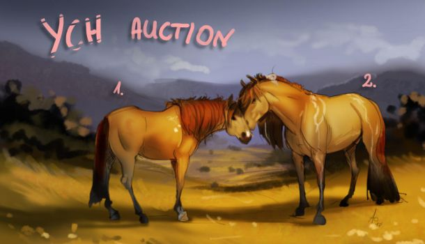 YCH auction - horse couple by Aomori