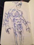Blue Lantern Flash by Ch1gg1n5