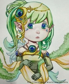 Earth Chibi by Resa11