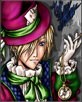 The Mad Hatter by Misakochan