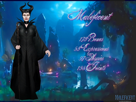 MMD Maleficent DL by 0-0-Alice-0-0