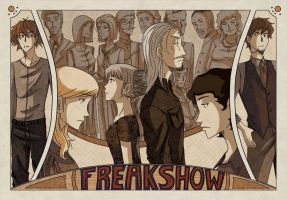 Freakshow Page Spread by Scotty6000