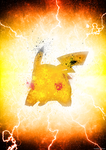 Poster - Pikachu by romus91